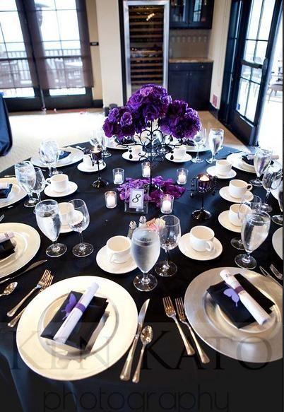 17 Best Black White Purple Theme Images On Pinterest