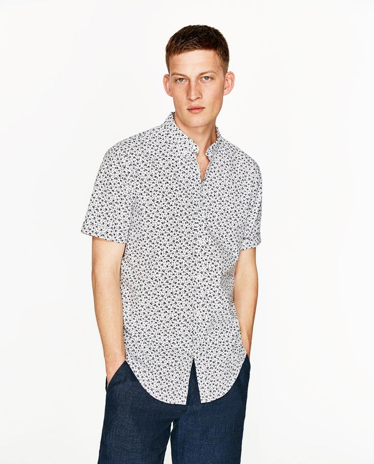 FLORAL PRINT SHIRT - Available in more colours