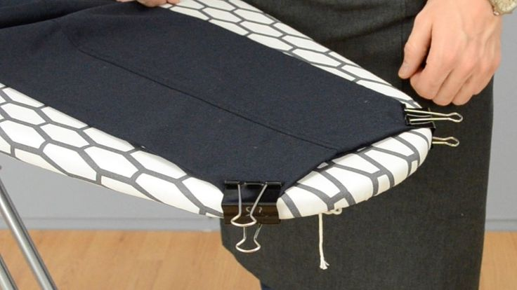 Learn This #HowToIronPants Trick and Get the Ironing Done Faster!