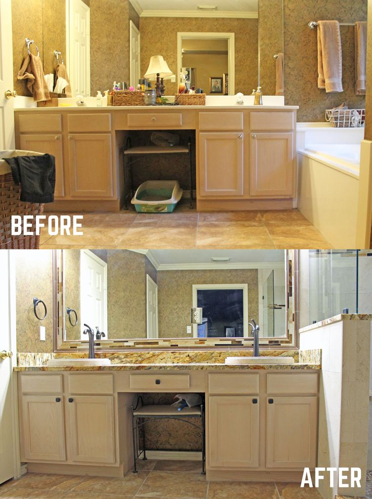 17 best images about before and after remodeling on Master bathroom remodel before and after