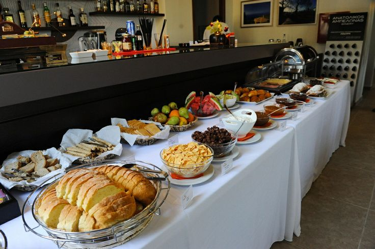 Enjoy a tasteful breakfast at Pilion Terra hotel.