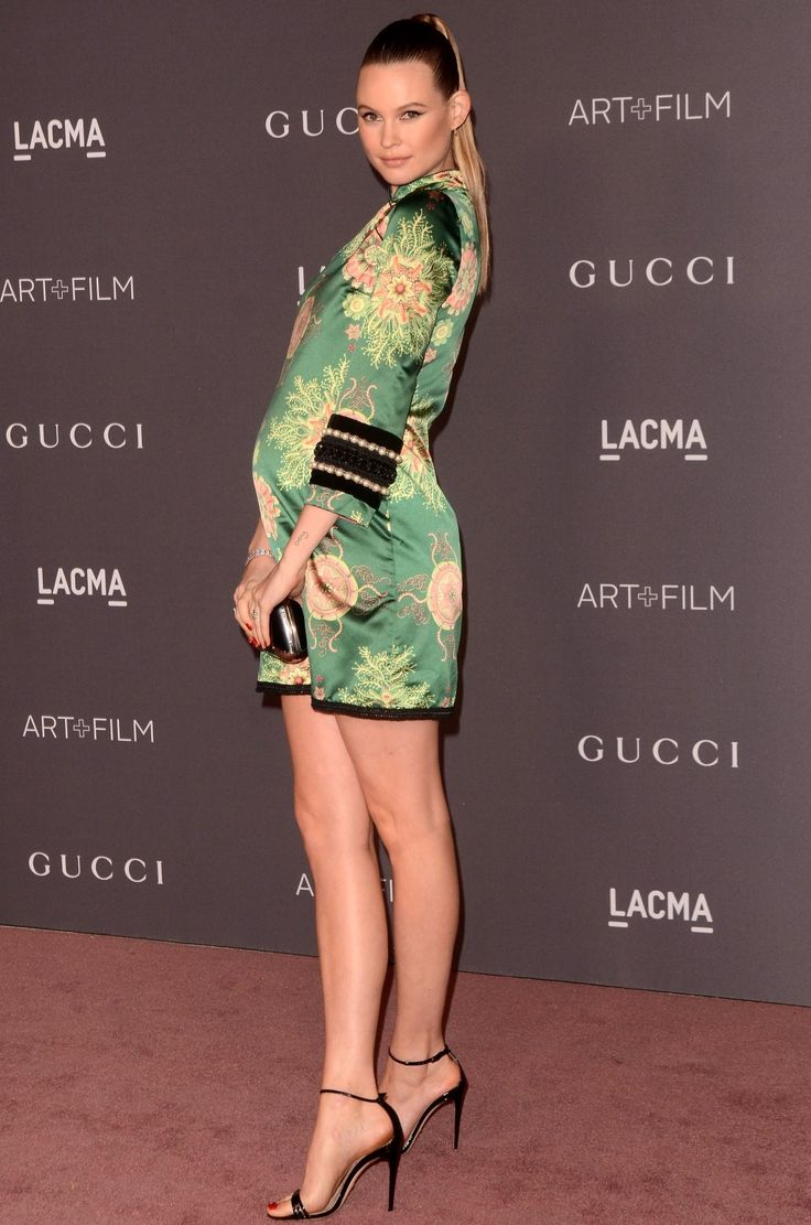 Hot Mama! Behati Prinsloo Flaunts Her Baby Bump — and Long Legs — on the Red Carpet/ maternity style/ style the bump
