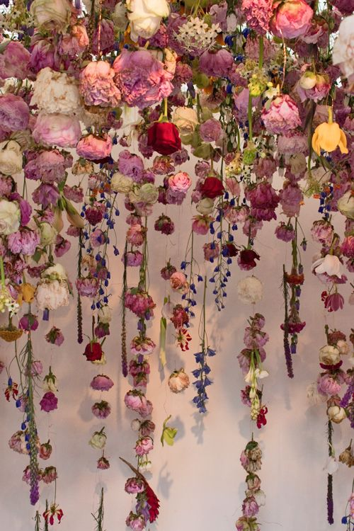Floral installation by Rebecca Louise Law at the Chelsea Flower Show 2013 #AnthropologieEU inspiration