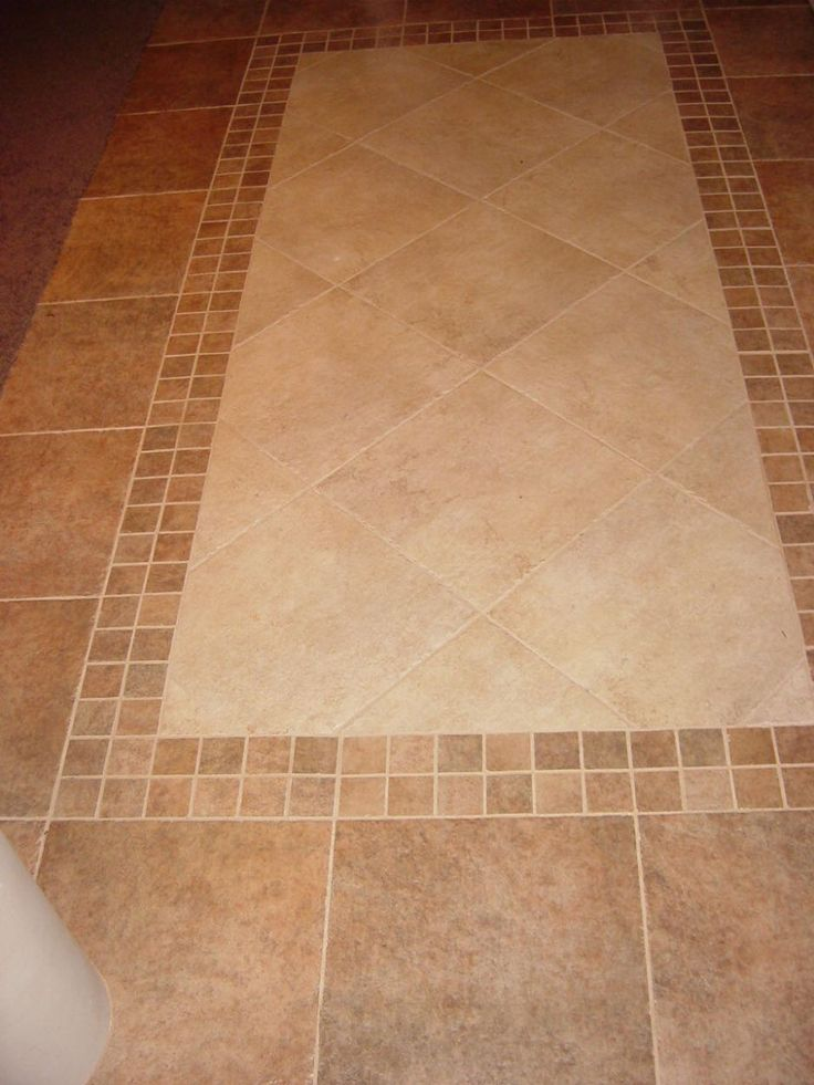 17 best images about tile placement on pinterest tile for Simple floors