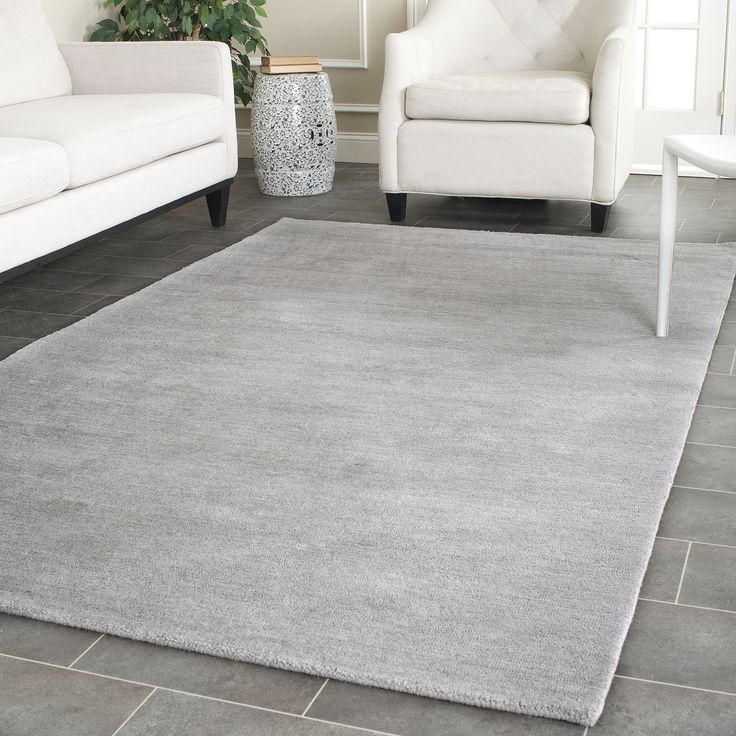 Awesome Safavieh Hand Loomed Himalaya Grey Wool Rug X   Overstock Shopping   Great  Deals On Safavieh   Rugs