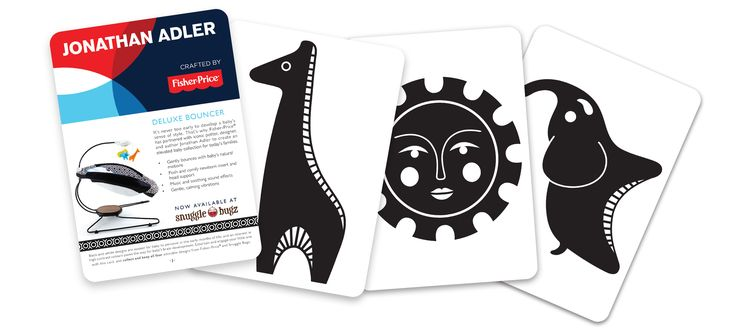 Collect and keep all four of our adorable art cards to engage your little one!