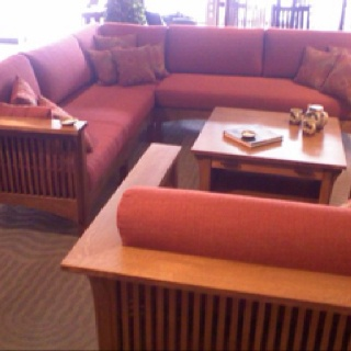 Mission Style Sectional For The Home Living Room House Styles