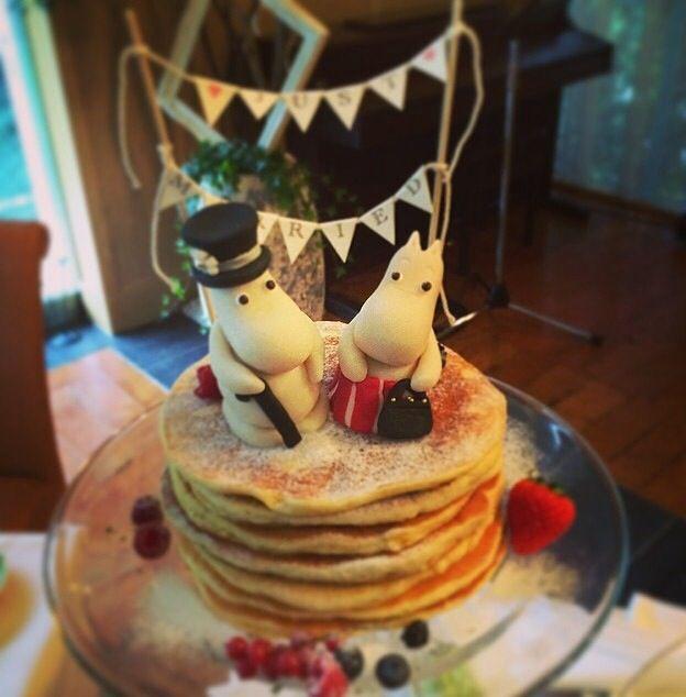 Moomins wedding cake sooo cute
