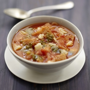 Soupe italienne à la tomate et au pain - Cuisine et Vins de France