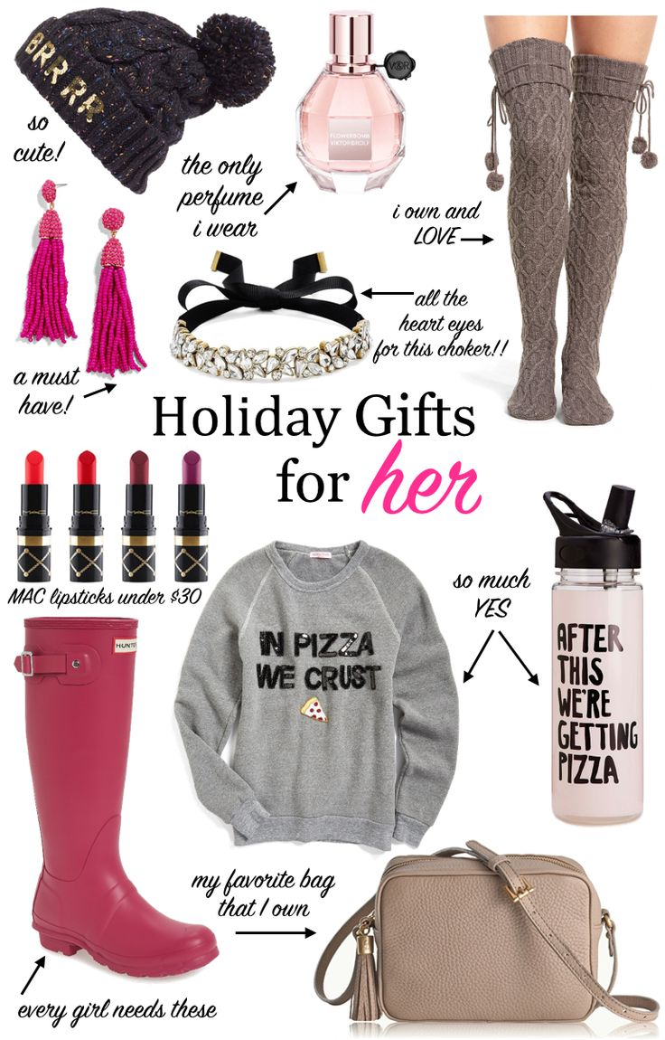 Gift Guide For Her Christmas Gifts Holiday