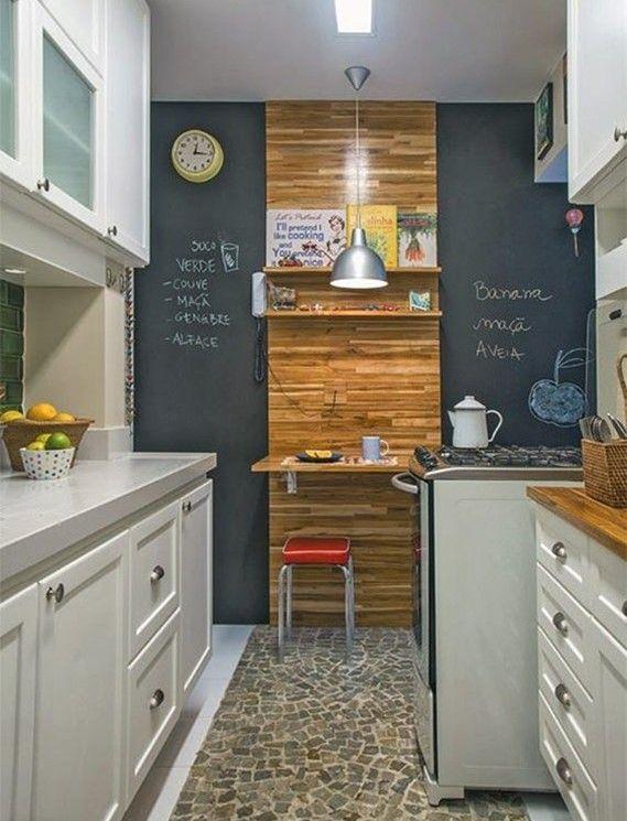 Adesivo Lousa na decoração da cozinha