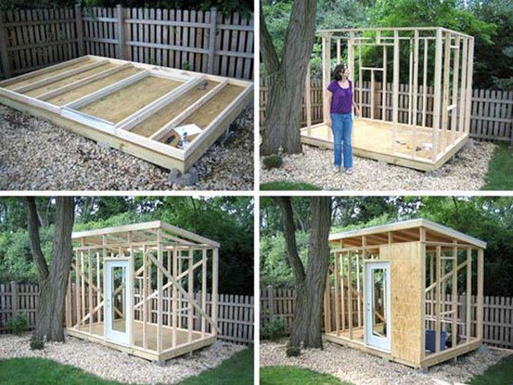 man cave shed plans