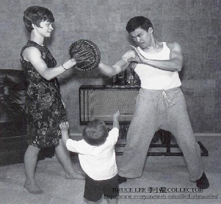 Bruce Lee  Linda Lee a...