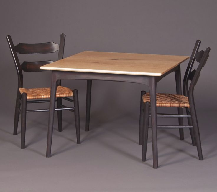 Greenwood Table With Greenwood Side Chairs Brian Boggs