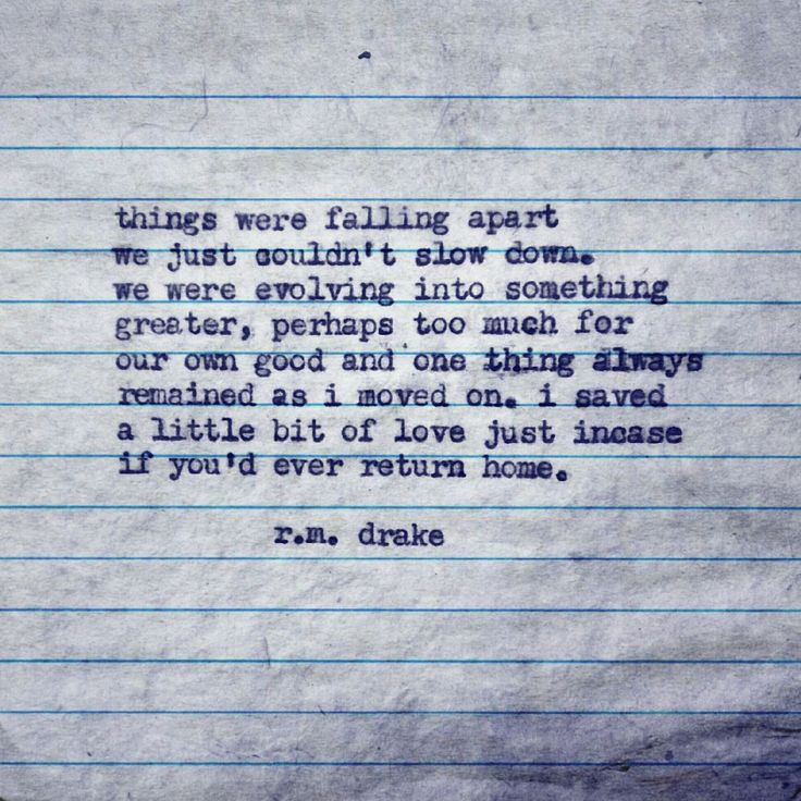 Falling Apart Inspirational Quotes: --things Were Falling Apart, We Just Couldn't Slow Down