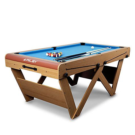 Riley W Leg Folding Pool And Snooker Table Snooker Tables U003e Foldaway Tables  Foldaway Snooker Tables, Some With Novel Folding Leg Design.