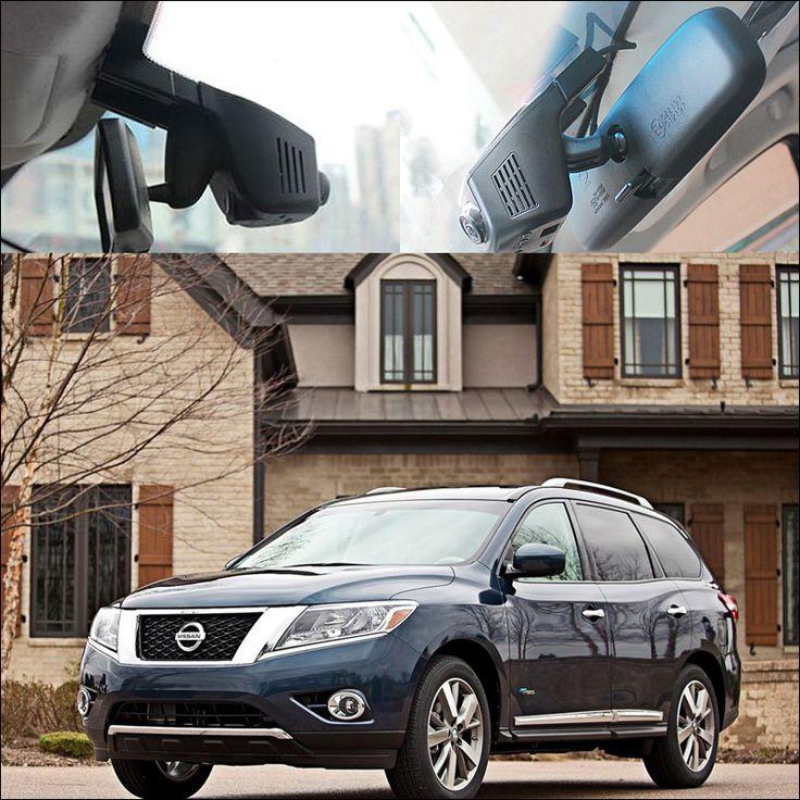 For nissan Pathfinder Car Wifi DVR Auto Driving Video Recorder G-sensor WDR Car Dash Camera car black box night vision