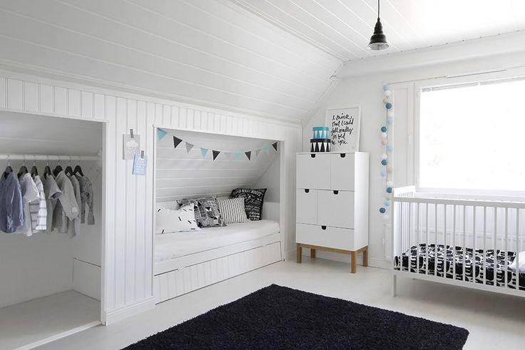 Kaunista tilan hyötykäyttöä lastenhuoneessa - Etuovi.com Ideat & vinkit