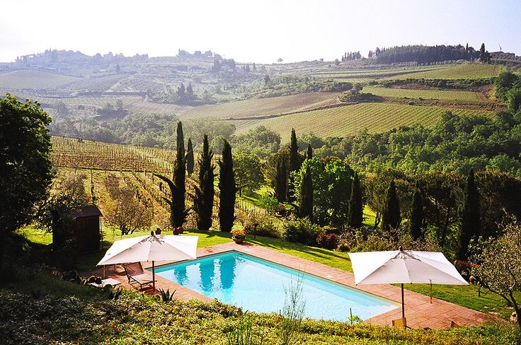 Fagiolari B & B in Chianti, Italia; another place to see on my trip to Italy!