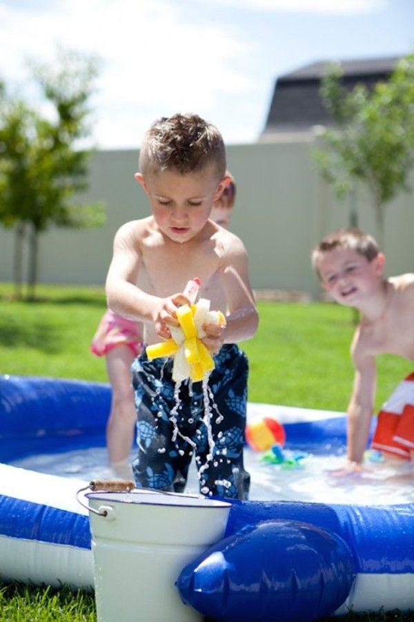 juegos de agua caseros