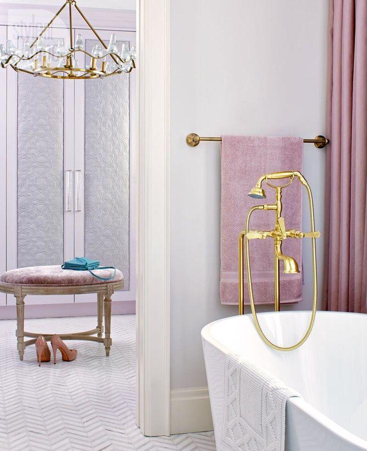 The 25 best claw bathtub ideas on pinterest tub for Mauve bathroom ideas
