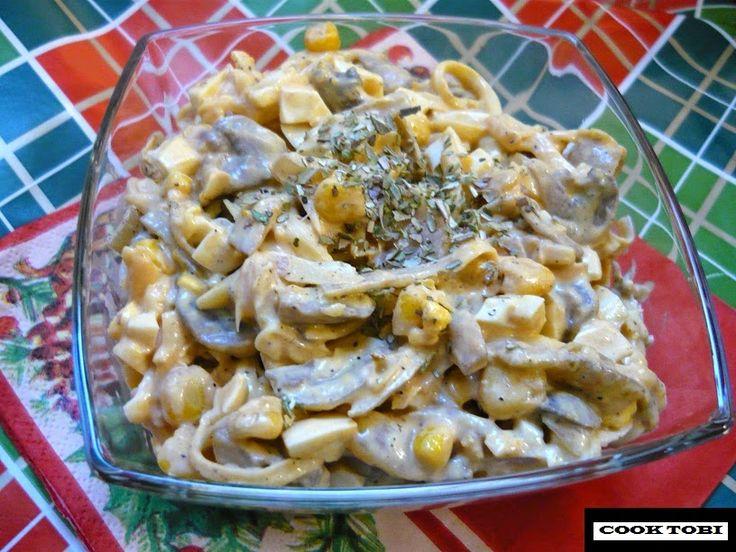Kuchnia PROzdrowotna: Karnawałowa sałatka PIZZA