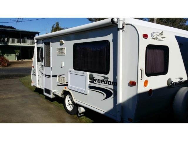 "Jayco Poptop 15'6"" Heritage Freedom 205 is listed For Sale on Austree - Free Classifieds Ads from all around Australia - http://www.austree.com.au/automotive/caravan-campervan/caravan/jayco-poptop-15-6-heritage-freedom-205_i4052"