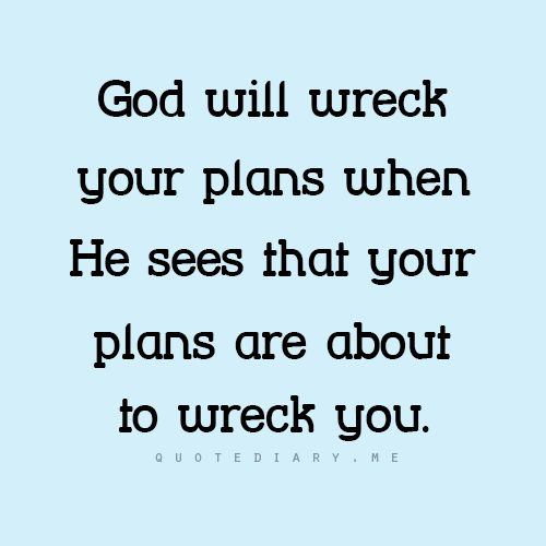 Dang!!! Way too many plans crashed over the years. Let's see what happens when he makes the plans...