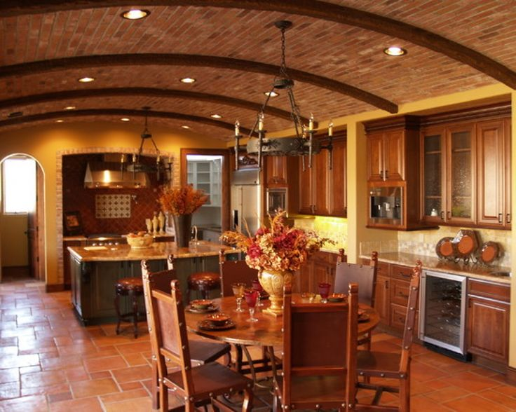 tuscan decor | Tuscan kitchen decorating design ideas pictures remodel and decor