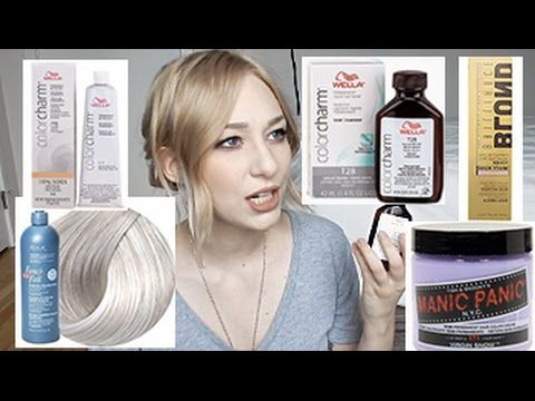about blonde toners wella manic panic redken more my experience - Color Touch Wella Mode D Emploi
