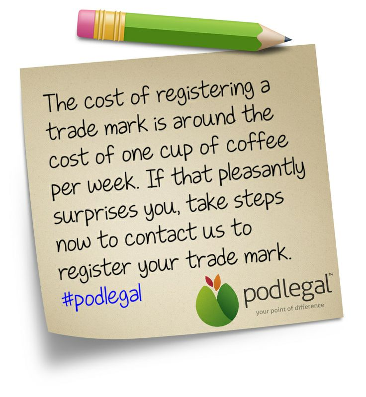 How much can you expect to pay for a trade mark? #IP #trademark #TM #podlegal