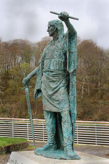 Monument of Red Hugh O'Donnell, Chief of Tir Connel Donegal Ireland