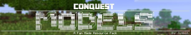 Conquest Models Pack Addon - minecraft resource packs : This is a community made resource pack made to be used with the Conquest_ Resour ...  #resource #packs | http://niceminecraft.net/category/minecraft-resource-packs/