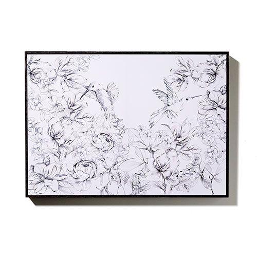 Stellar Artwork Hummingbird Landscape