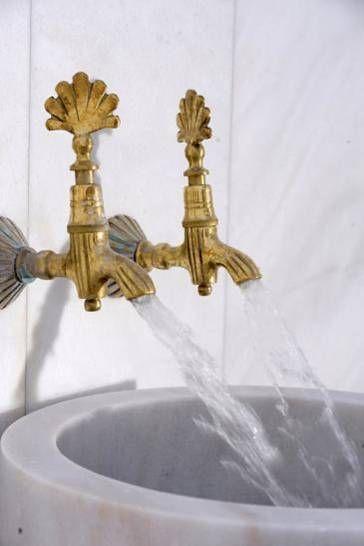 hammam inspiration, I will replicate the tap handle!