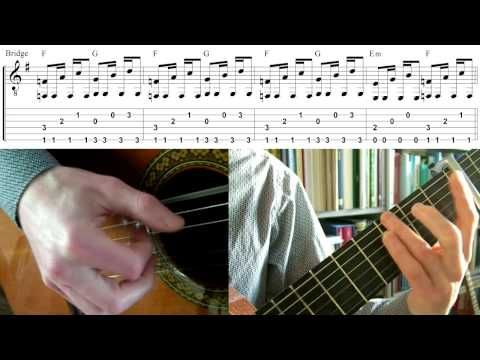 Oceaan - Racoon (Guitar lesson)