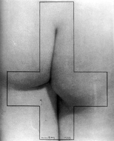 Man Ray, Monument to Sade, 1933