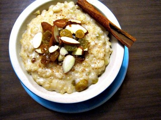 Recipe Swap: Coconut Brown Rice Pudding - Rosemarried