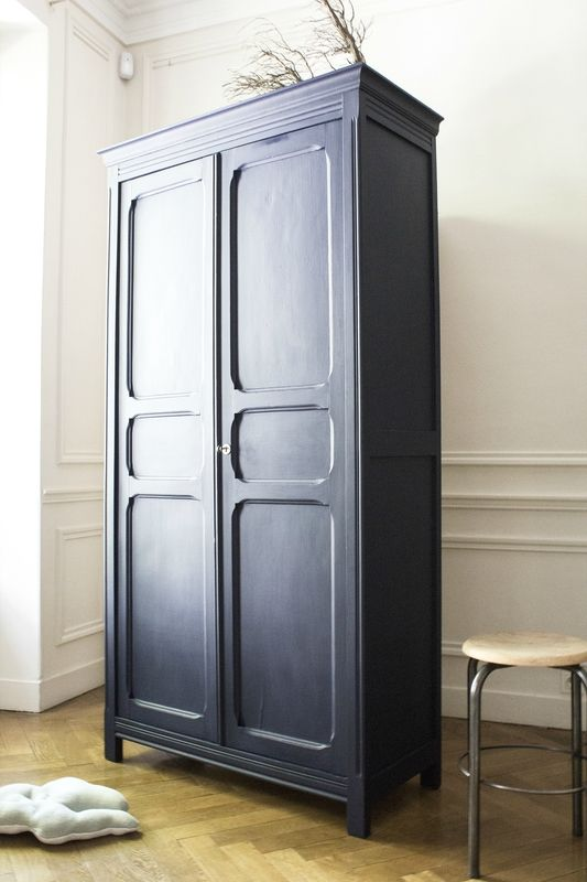 free armoire parisienne bleue chambre enfant trendy little with armoire parisienne vintage. Black Bedroom Furniture Sets. Home Design Ideas