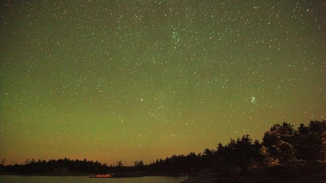 Mini Timelapse: Georgian Bay Stars by Rachel MacDonald. My first attempt at astral photography and timelapse. The ISO was way too high so the photos are grainy but not a bad start. Caught a subtle aurora that only the camera saw that night.