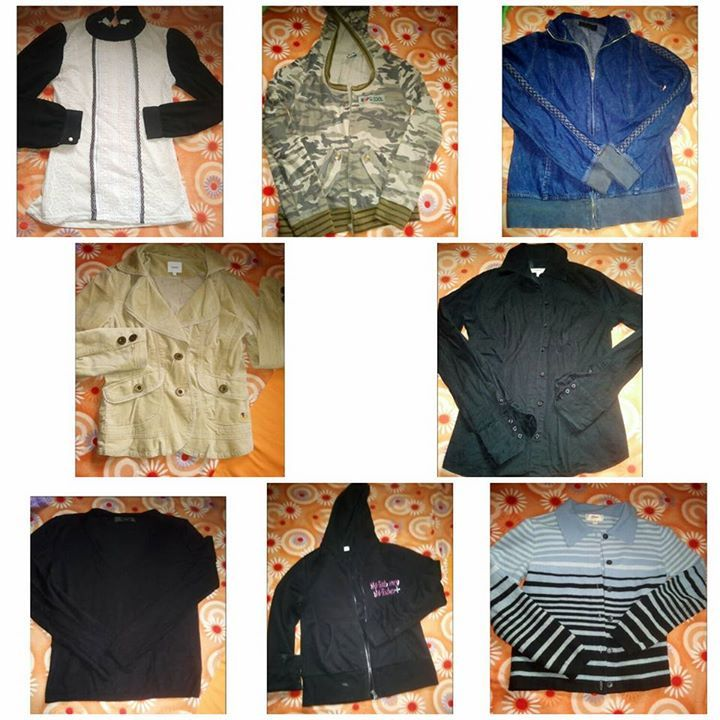 Sale jackets,blazer,Long sleeves Small to large 20 to 35 each #rangloo, #bar, #accessories