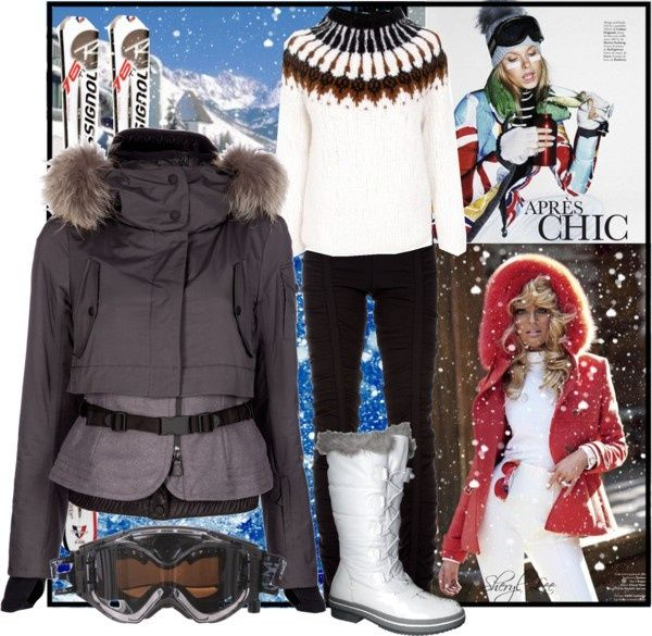 """apres ski outfits   Apres Ski"""" by sheryl-lee liked on Polyvore   Clothing"""