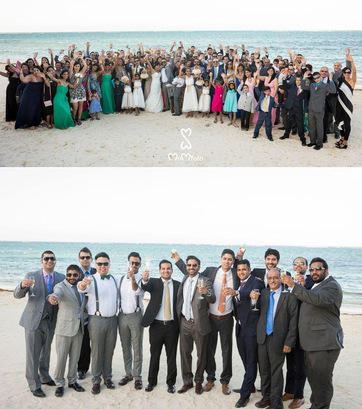 asian wedding photography east midlands%0A Wedding Party at the beach photo  Iberostar Rose Hall Beach Destination Wedding  Photographer  Montego