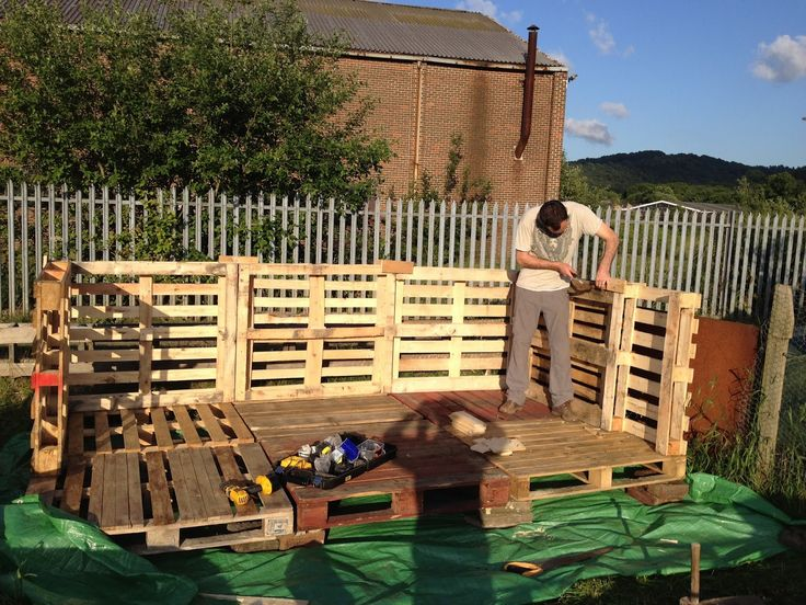 Might Be A Good First Pallet Project For Me Garden Shed
