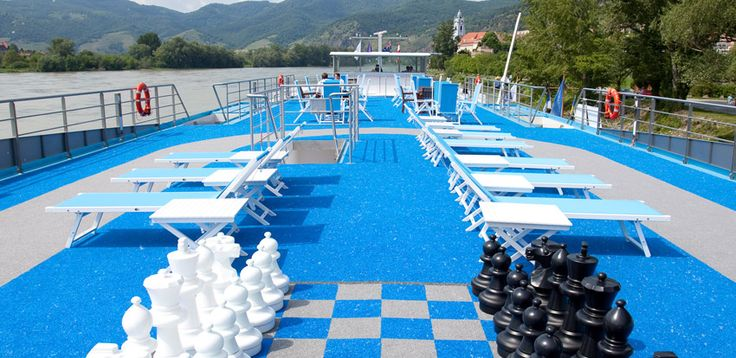 AmaWaterways - Top deck aboard AmaDolce