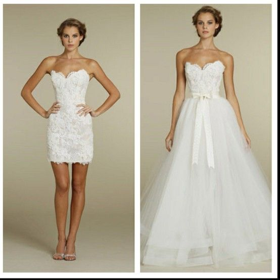 Dream Dress! LOVE that there's the option of it being short or long!