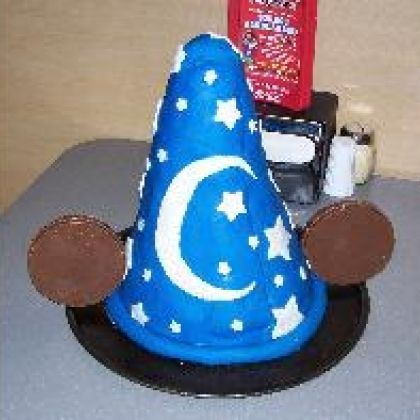 Mickey's Sorcerer Hat Cake