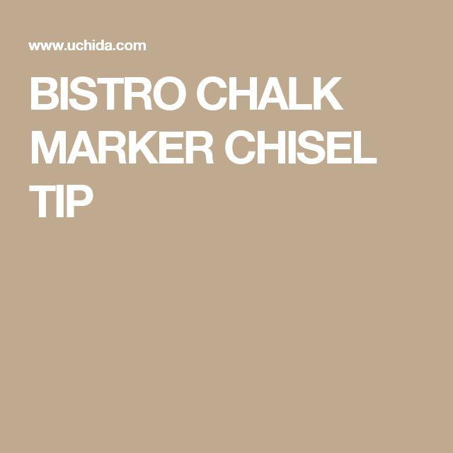 BISTRO CHALK MARKER CHISEL TIP
