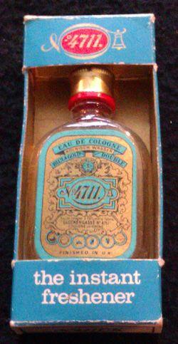 Genuine vintage 4711 Eau de Cologne I have the bottle which still has perfume
