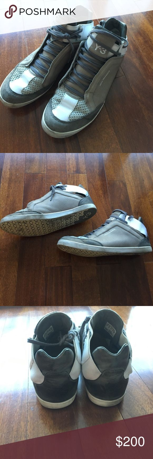Yoghi Yamamoto Y3 Grey Sneakers - 9 Y3 Grey Sneakers - 9 Scuffing at Toe and back. Yohji Yamamoto Shoes Sneakers
